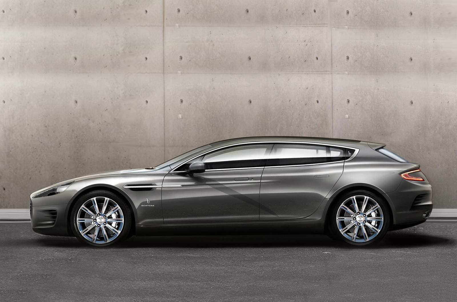 one off bertone aston martin rapide shooting brake. Black Bedroom Furniture Sets. Home Design Ideas