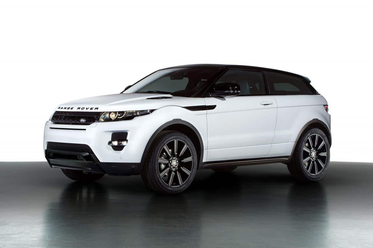 The Black Pack For The Range Rover Evoque Dynamic