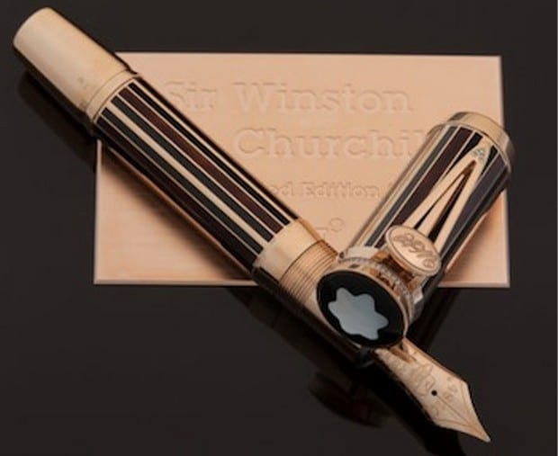 3 – Sir Winston Churchill Limited Edition 53 Fountain Pen