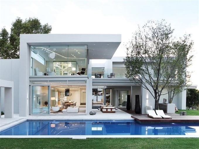 Contemporary Residence In Johannesburg, South Africa