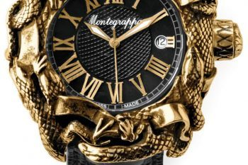 Montegrappa Chaos Automatic Analogue Wristwatch