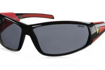 Channel your inner race car driver with these Scuderia Ferrari sunglasses