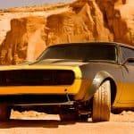 Chevy Camaro Bumblebee Transformers 4
