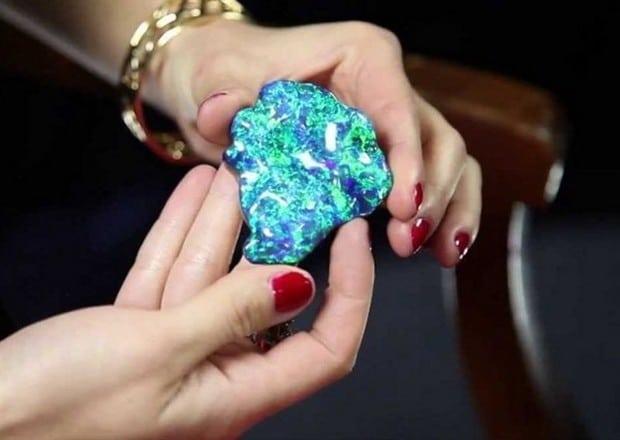 the royal one 3 million rare black opal