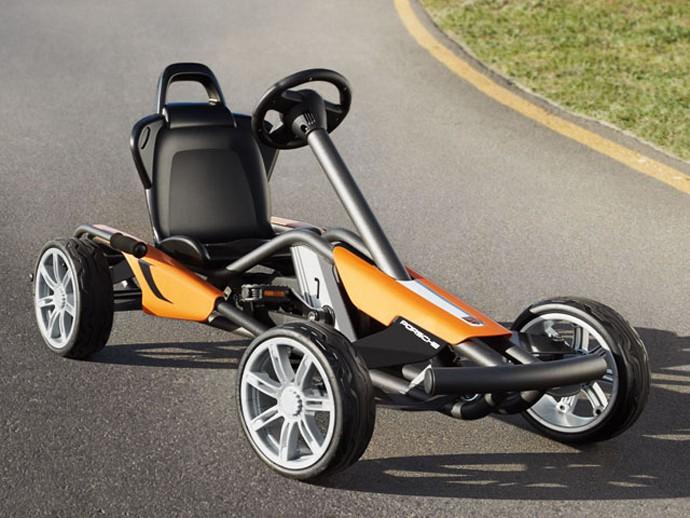 Porsche Go-Kart for future Porsche addicts