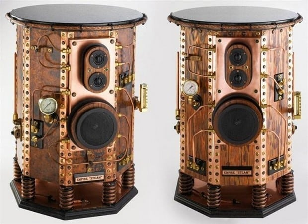 The Empire Quot Steam Quot Steampunk Speakers
