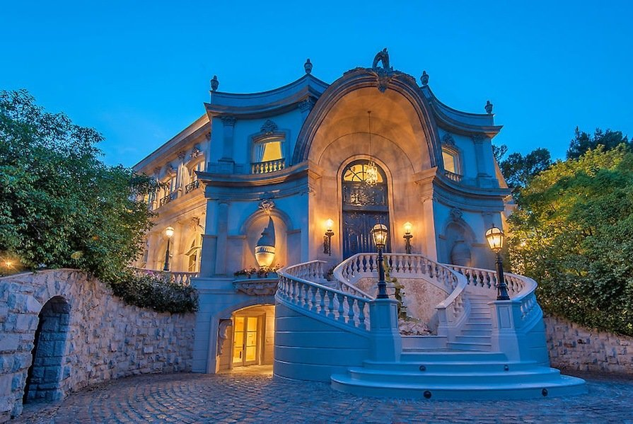 French Baroque Beverly Hills Chateau Up For Sale