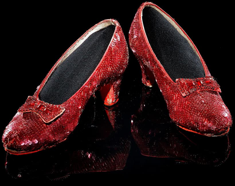 Original Ruby Slippers from The Wizard of Oz