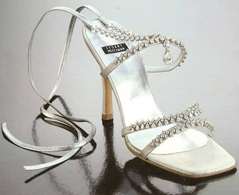 Stuart Weitzman Platinum Guild Stilettos