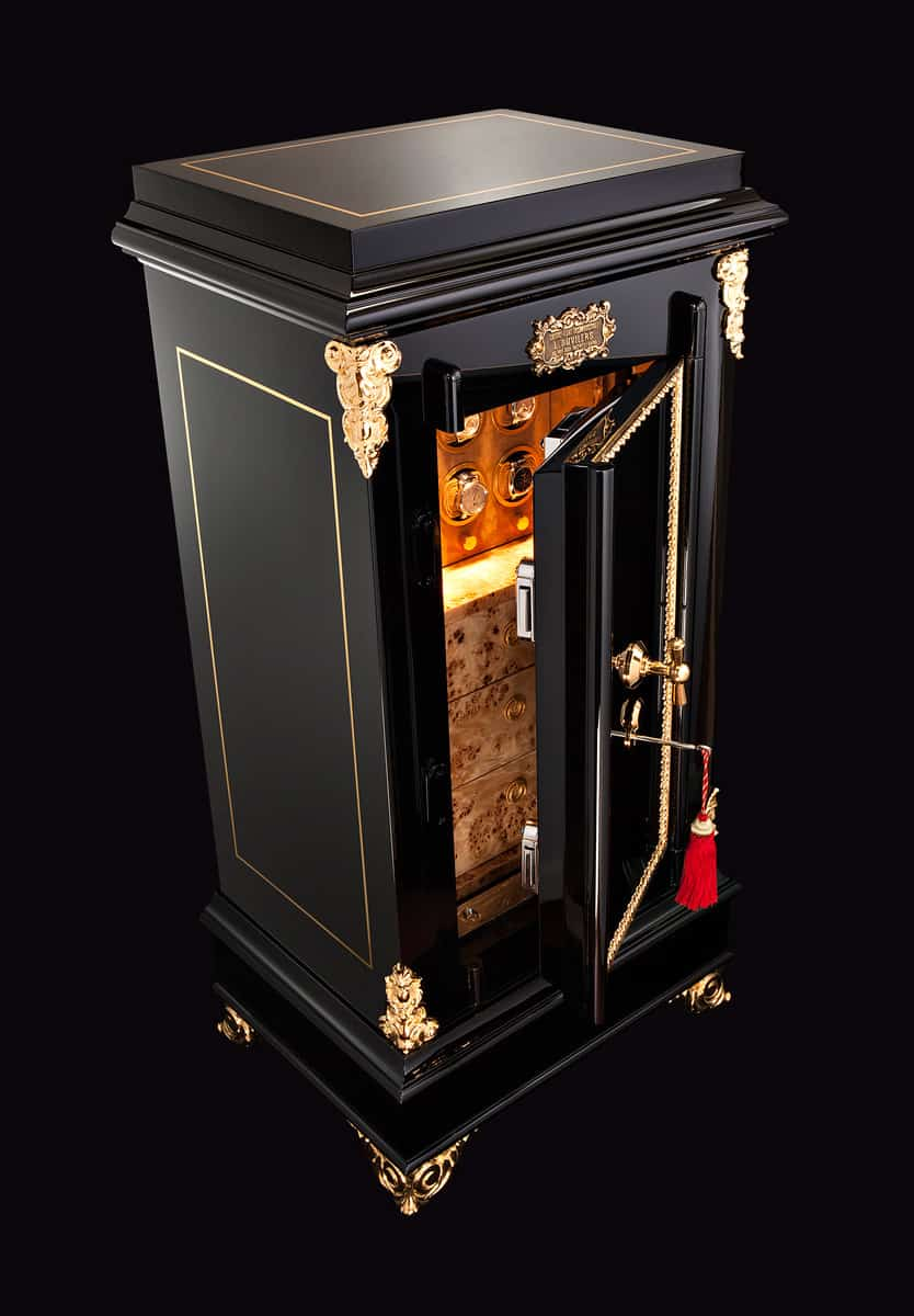 D 246 Ttling Restores 19th Century Luxury Safe