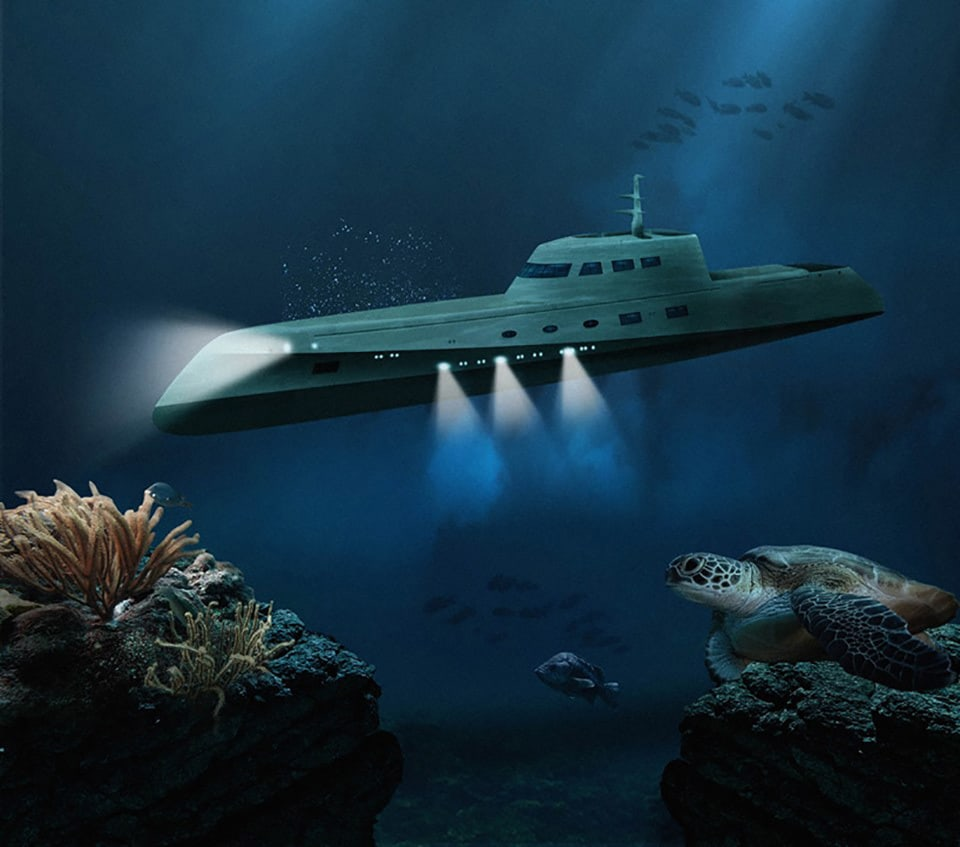 """""""Lovers Deep"""" Offers an Amazing Luxury Submarine Experience"""