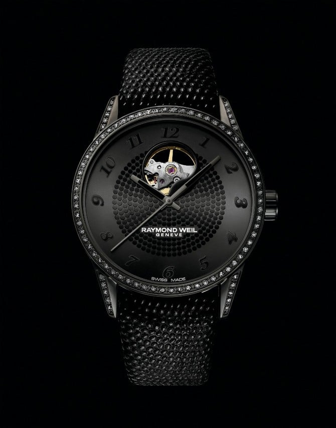 The Raymond Weil Freelancer Lady Urban Black