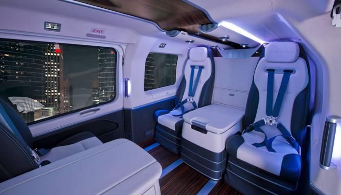 Airbus s 8 5 million ec145 mercedes benz style helicopter for Mercedes benz helicopter price