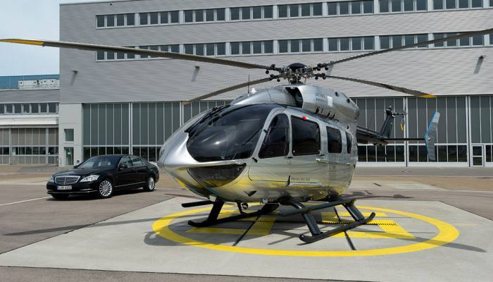 Airbus s 8 5 million ec145 mercedes benz style helicopter for 2 5 million mercedes benz