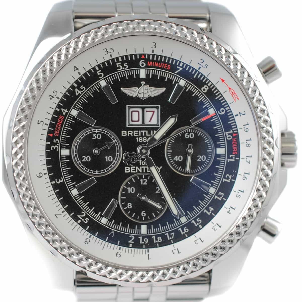 The Breitling For Bentley 6 75 Chronograph Is The