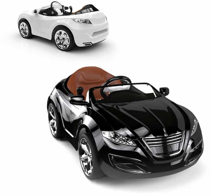 Luxury electric vehicles for kids by henes for Motorized vehicles for 12 year olds