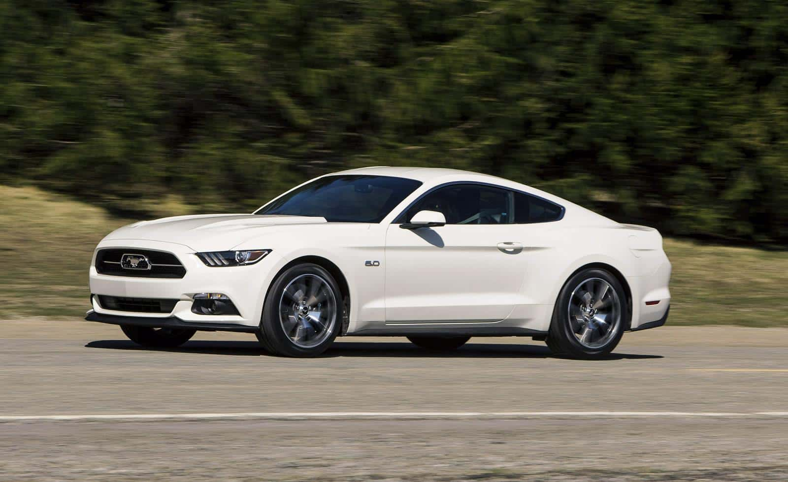 The Ford Mustang 50th Anniversary Limited Edition