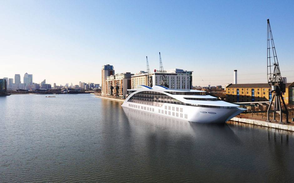 Sunburn London is a Superyacht Turned Luxury Hotel
