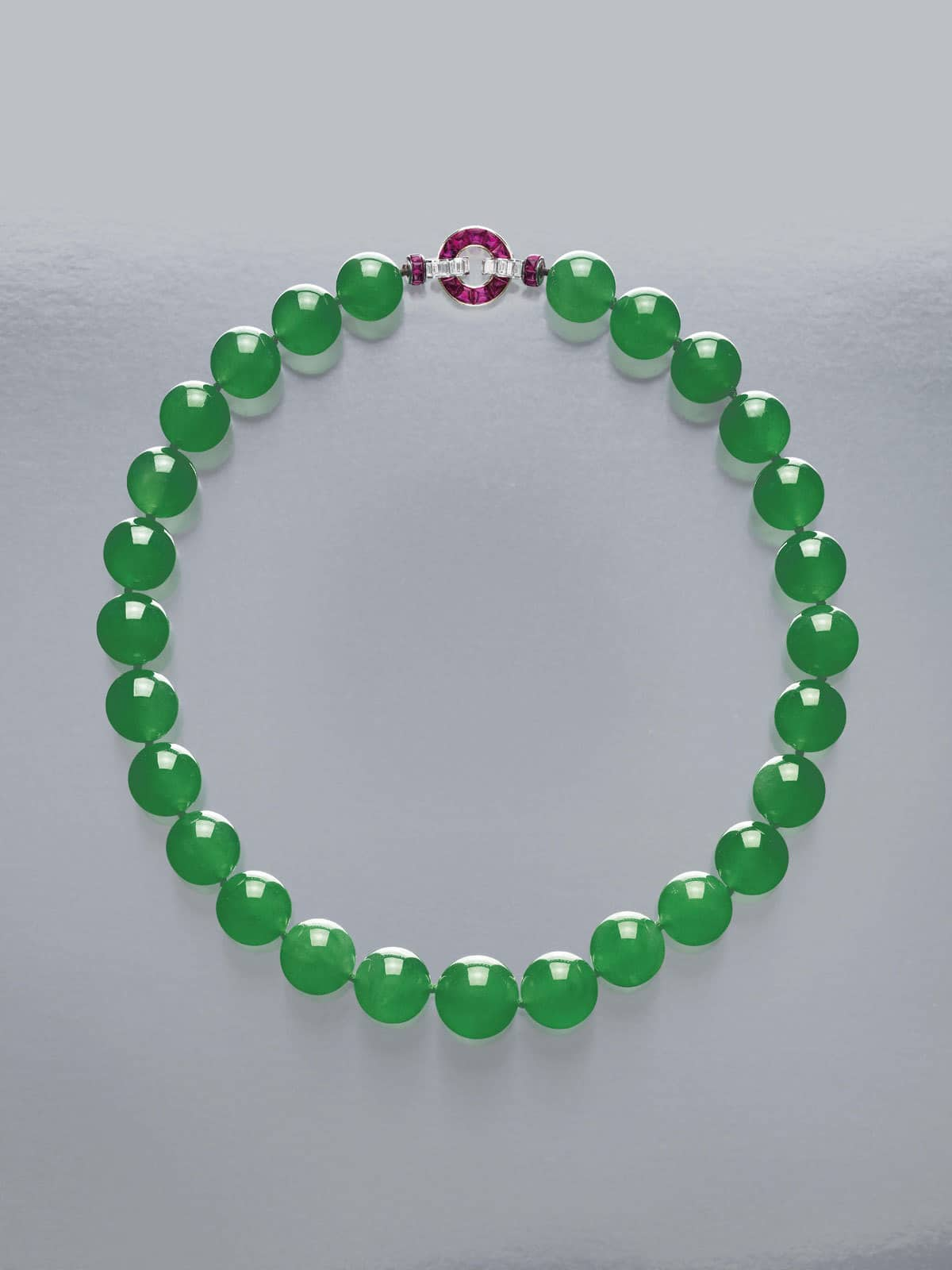 Cartier Acquires World S Most Expensive Jadeite Necklace