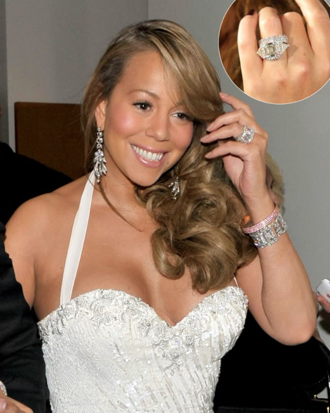 Top 10 Most Unique And Expensive Celebrity Engagement Rings