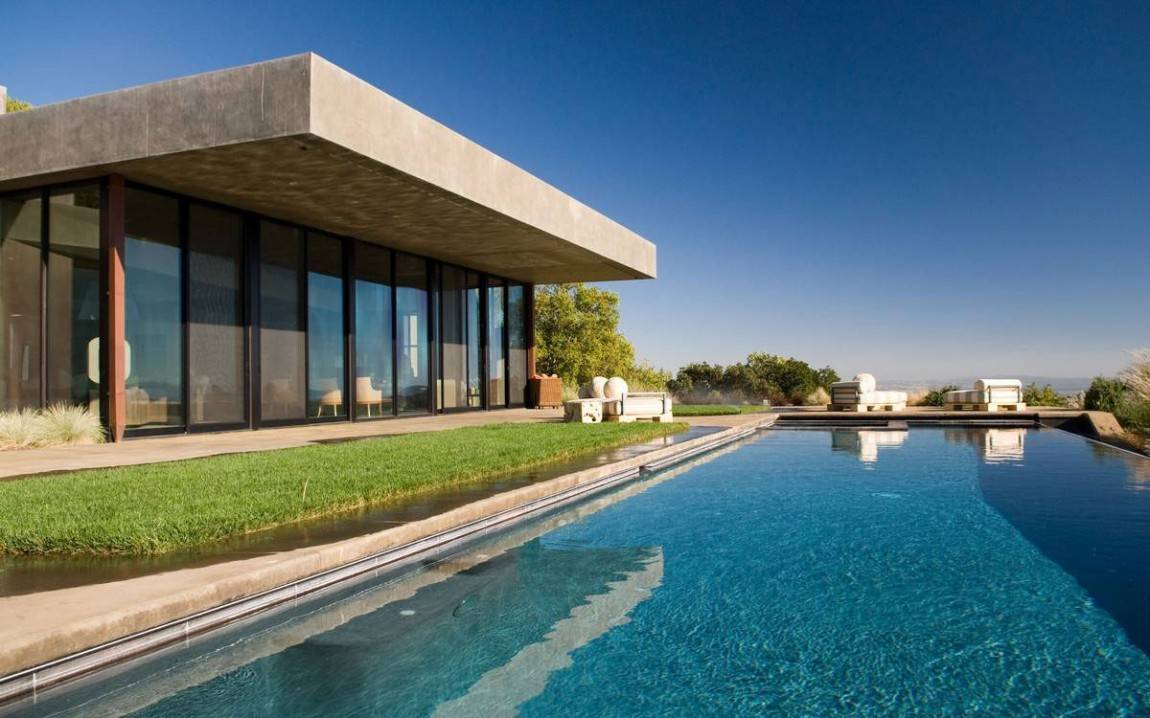 A Modern Mansion In California S Sonoma Valley
