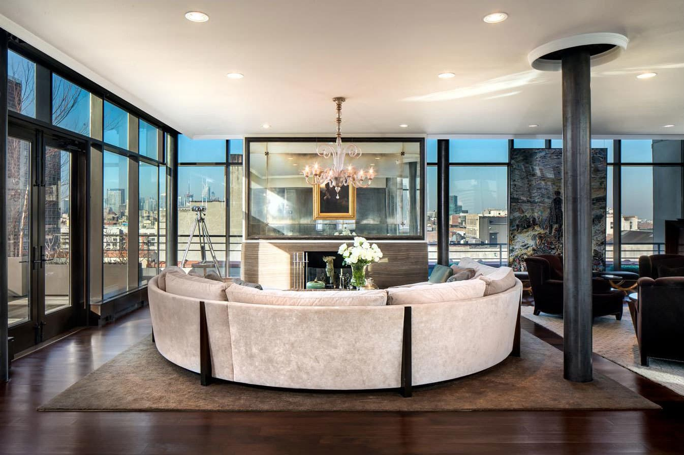 Stunning soho duplex penthouse for sale for 37 5 million for Penthouses for sale in manhattan