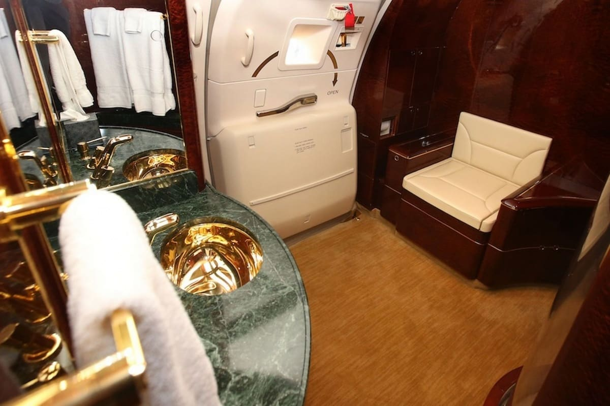 A Rare Look Inside Donald Trump S 100 Million Private Jet
