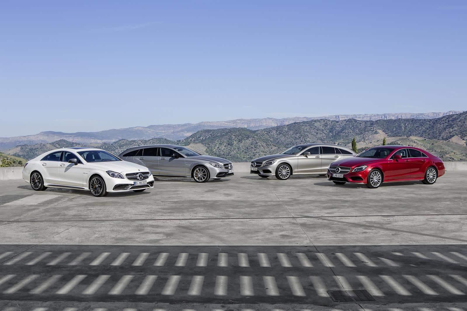 Mercedes benz reveals its 2015 cls lineup for Mercedes benz line up