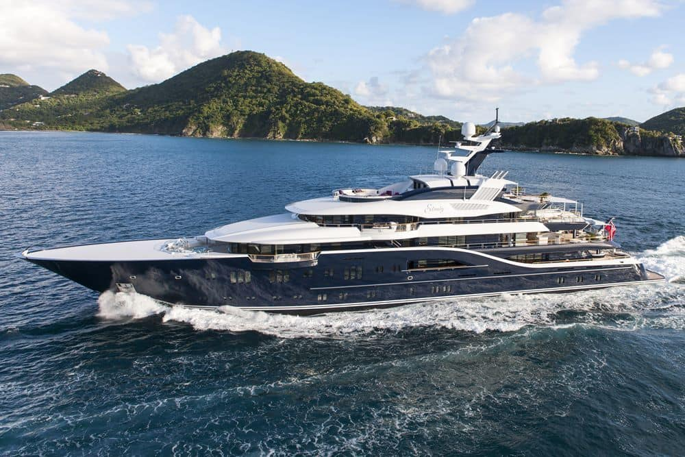 Solandge Is An Impressive 85 Meter Superyacht