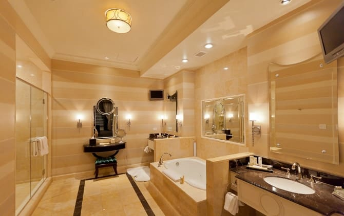 15 Incredible Hotel Bathrooms You D Never Want To Leave