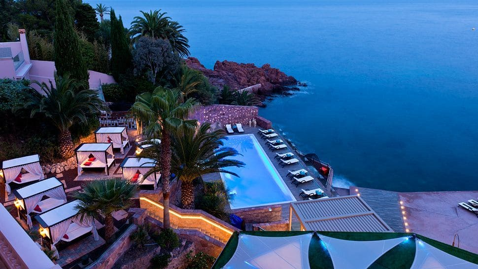 The Miramar Beach Hotel Amp Spa On The French Riviera