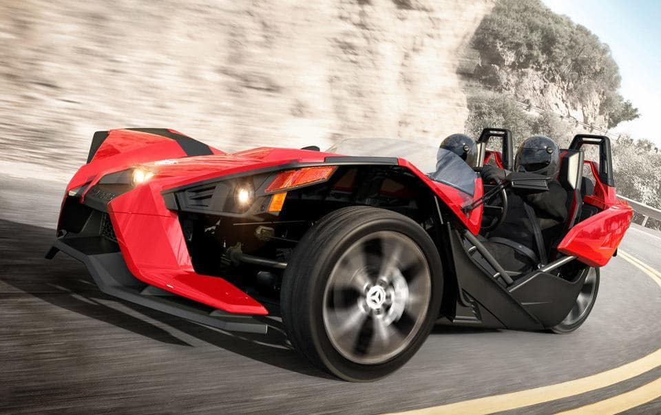 the 2015 polaris slingshot performance three wheeler. Black Bedroom Furniture Sets. Home Design Ideas