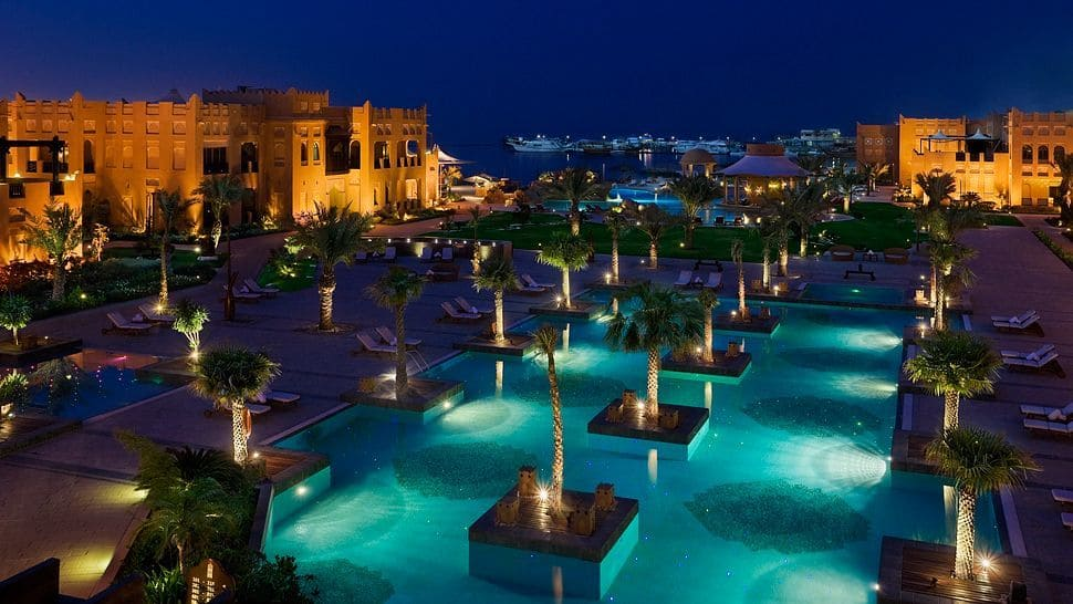 Doha S Sharq Village Amp Spa Hotel On The Shores Of The