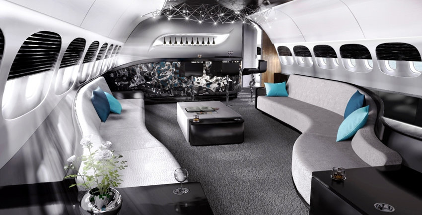 The Vip Dreamliner Luxury Interior Setup For A Private