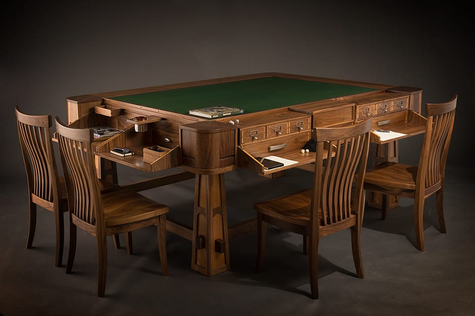 Luxury Board Game Tables by Geek Chic