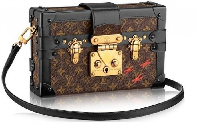 9aded3af42d0 Louis Vuitton s Petite Malle Luxury Bag Collection