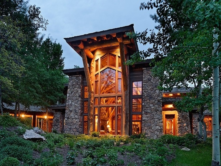 A stunning aspen estate castle creek valley ranch for Most expensive homes in colorado
