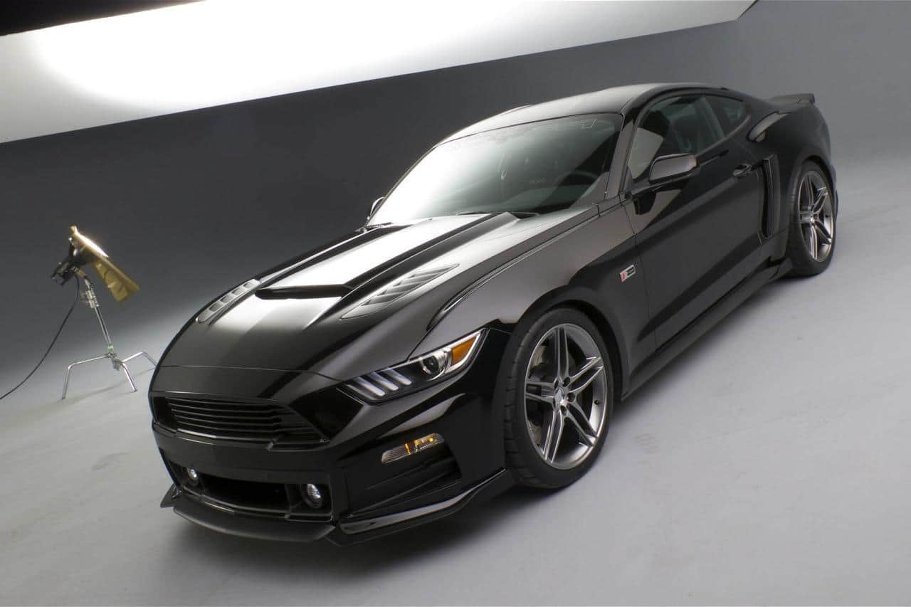 2016 Mustang Hood Scoop >> 2015 Ford Mustang Customization by Roush Revealed