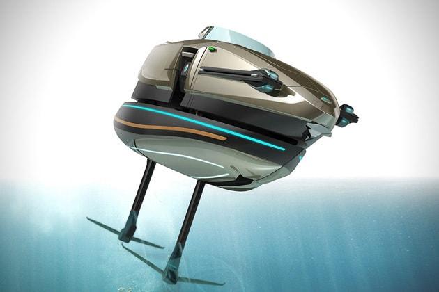 Kormaran is a Cool Transformer-Boat Concept