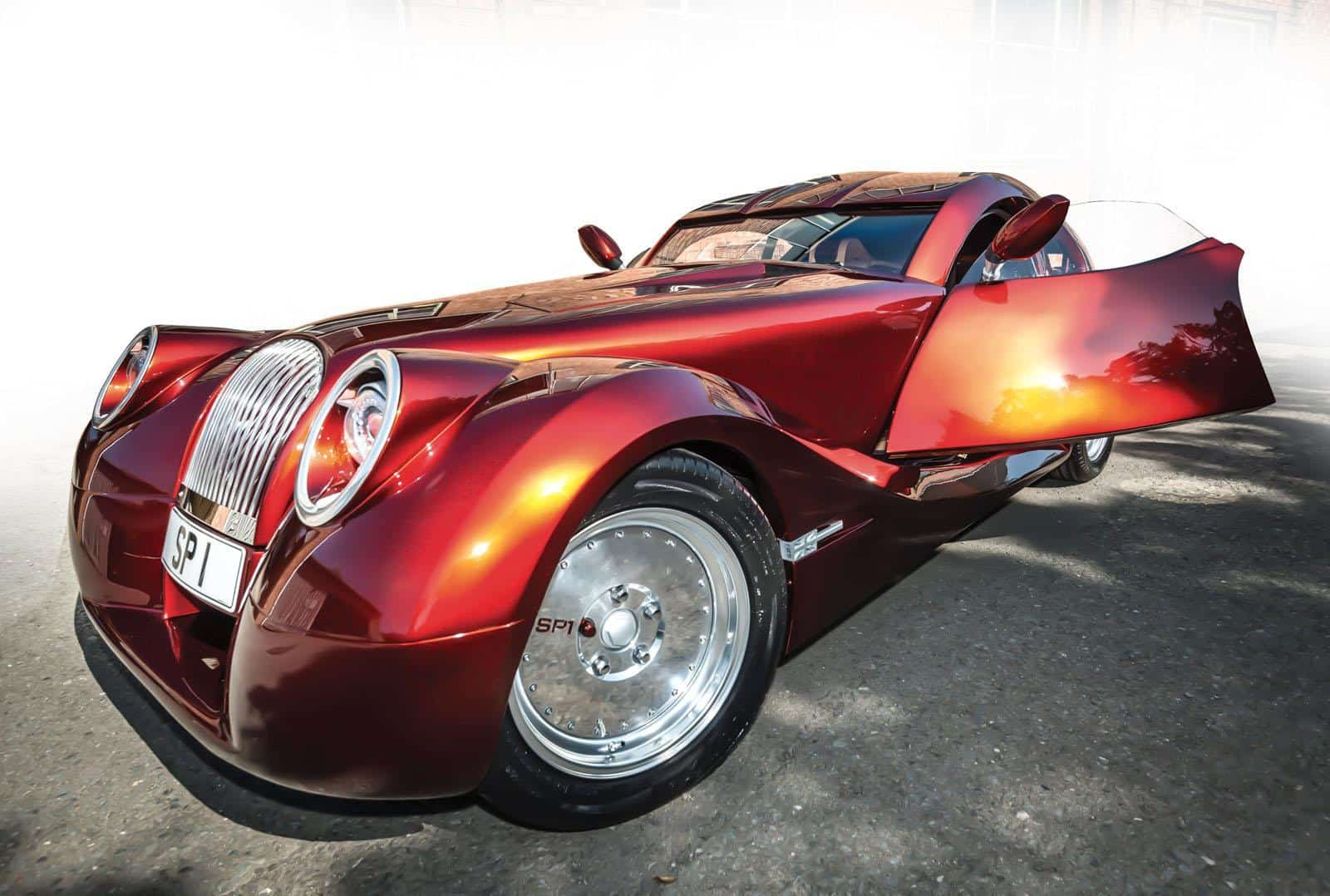 The SP1 is the First Car Released by Morgan\'s Special Projects ...