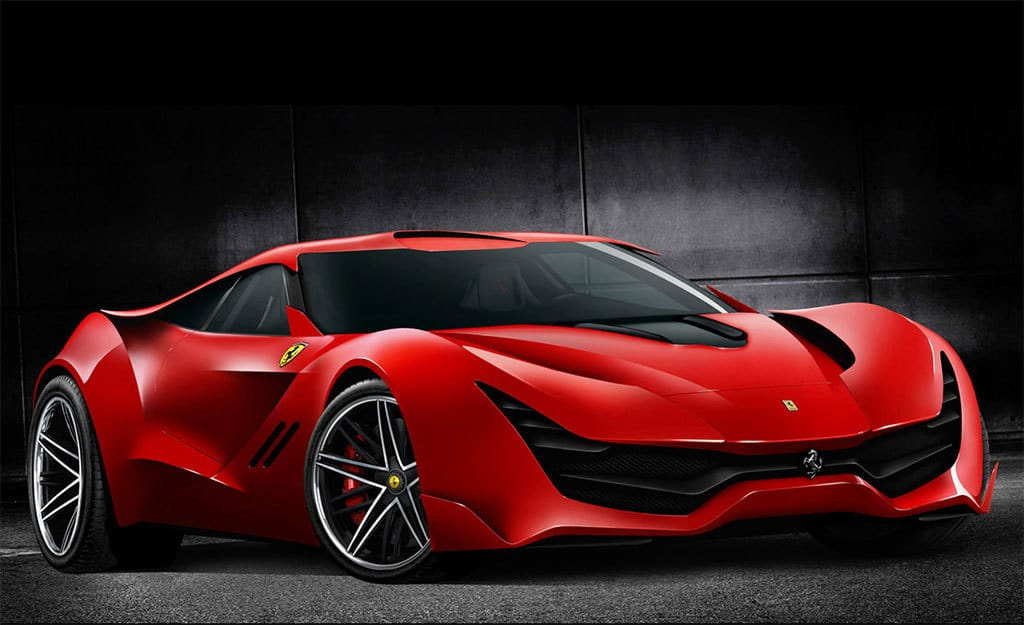 Cool Sports Cars Ferrari: The Ferrari CascoRosso Is An Intriguing Concept With Some