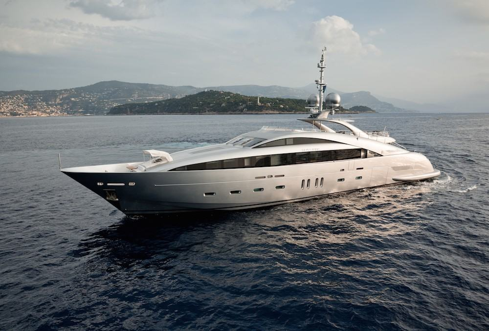 Silver Wind An Ultra Modern 140 Ft Superyacht By Isa Yachts
