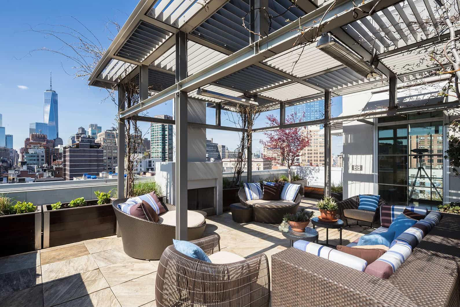 Penthouse b is a magnificent apartment in soho new york for Apartments in tribeca nyc