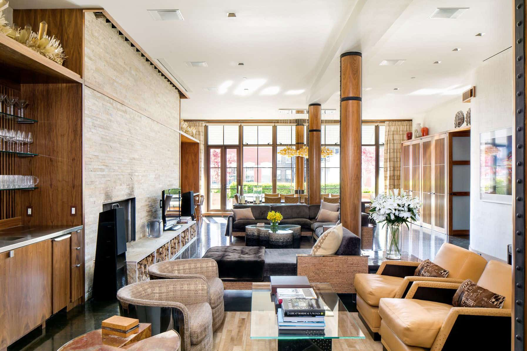 Penthouse B is a Magnificent Apartment in SoHo, New York