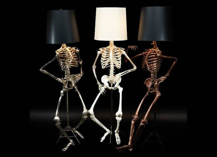 Philippe Skeleton Lamps By Zia Priven