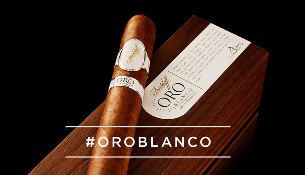 Davidoff to Release Highly Exclusive Oro Blanco Vintage Cigar