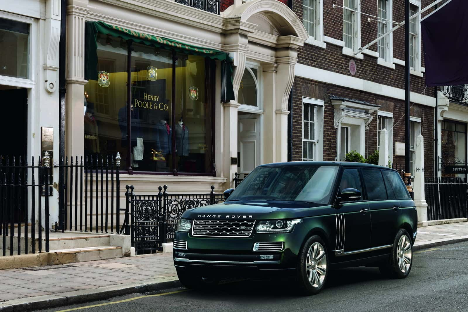 The Holland Amp Holland Range Rover Luxury Suv Comes With A