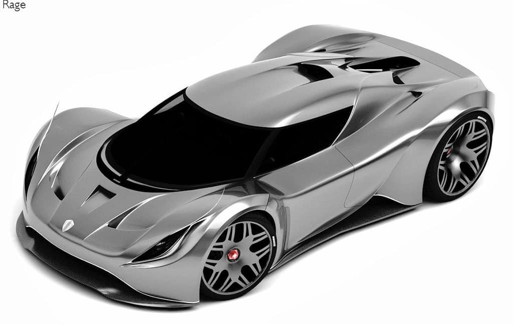 The Entry Level Koenigsegg Rage Concept