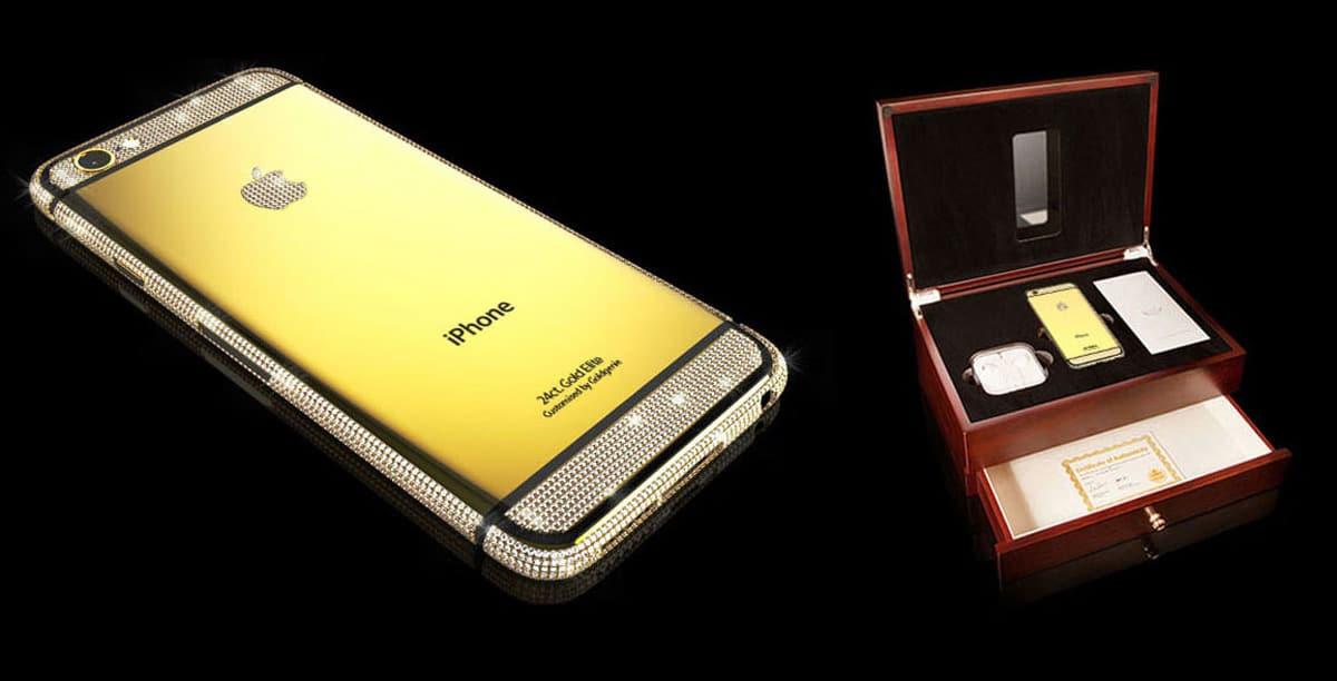 the luxury gold iphone 6 swarowski brilliance elite case