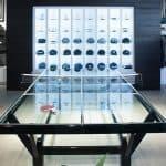 TravisMathew Glass Top Ping Pong Table